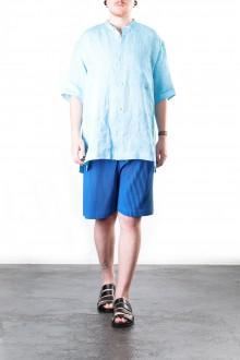 ISSEY MIYAKE Herren Hemd blau