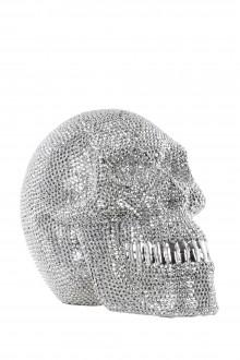 Cor Mulder Strass Skull DIAMOND groß silber