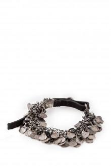 GOTI Silber Armband BR1106 silber schwarz