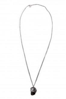 GOTI Silberkette mit Anhänger in Knospenform CN1146 silber