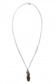 GOTI Silberkette mit Anhänger in Knospenform CN1157 silber