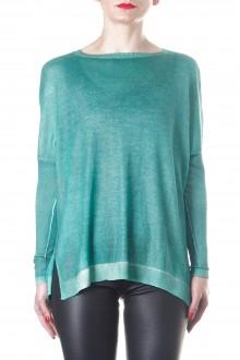 Avant Toi Damen Kaschmere Pullover grün