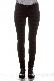 Robin`s Jean Damen Jeans DISTRESS schwarz