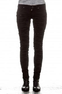 Robin`s Jean Damen Jeans STRASS schwarz