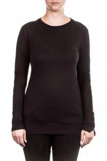 Thom Krom Damen Langarm Shirt schwarz