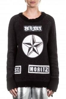 Jet Set Damen Pullover OLGA schwarz