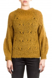 ONE ON ONE Damen Pullover BEAUTIFUL ocker