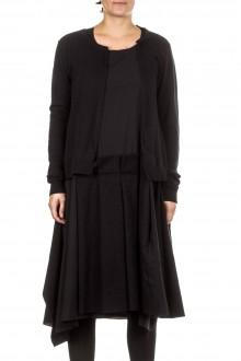 Rundholz Damen Kleid mit Cardigan schwarz