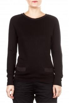 Y-3 Damen Sweatshirt schwarz