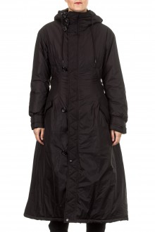 Y-3 Damen Wintermantel LITETAFT COAT schwarz