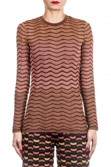 M Missoni Damen Langarmshirt multicolor