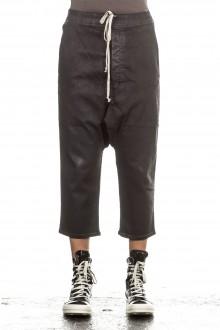 Rick Owens DRKSHDW Herren 7/8 Jeans Avantgarde schwarz