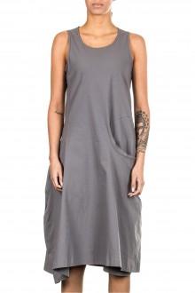 Rundholz Damen Stretch Kleid grau