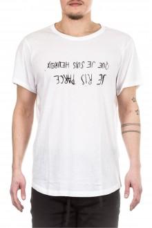 Ann Demeulemeester Herren T-Shirt weiß