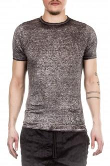 AVANT TOI Herren Leinen T-Shirt grau
