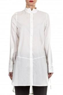 Ann Demeulemeester Damen Bluse Oversized weiß