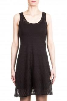 M Missoni Damen Strick Kleid schwarz