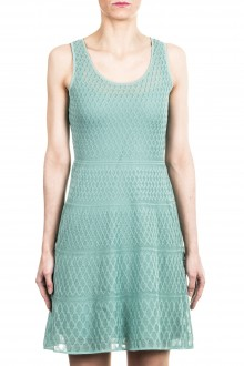 M Missoni Damen Strick Kleid mint