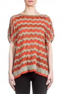 M Missoni Damen Strick Shirt multicolour