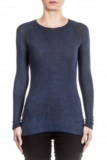AVANT TOI Damen Kaschmir Mix Pullover blau
