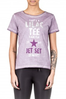 Jet Set Damen T-Shirt LACY flieder
