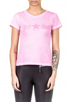 Jet Set Damen T-Shirt JESSY pink