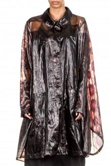 Rundholz Damen Mantel Oversized braun