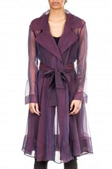 Anett Röstel Damen Seidenmantel violett