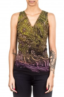 FUZZI Damen Top multicolour