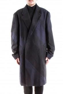 ISSEY MIYAKE Herren Mantel bicolor schwarz