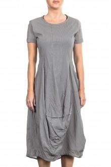 Rundholz Damen Kleid oversized grau