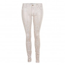75 Faubourg Skinny Jeans CREAM COPPER weiss