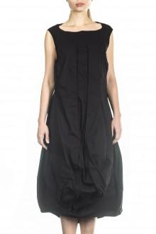 Rundholz Damen Kleid schwarz