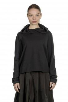 Katharina Hovman Damen Pullover oversized khaki