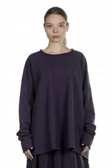 Katharina Hovman Damen Pullover oversized violett