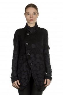 Y's Yohji Yamamoto Damen Avantgarde Strickjacke schwarz