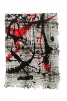 Faliero Sarti Gestrickter Schal 'MIRO' aus Schurwollmischung multicolour