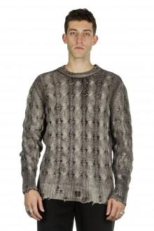 AVANT TOI Herren Kaschmir-Mix Pullover taupe