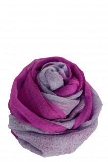 Suzusan Damen Kaschmir Schal violett