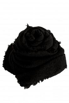 Faliero Sarti Gestrickter Schal 'ALEXIA' aus Schurwollmischung schwarz