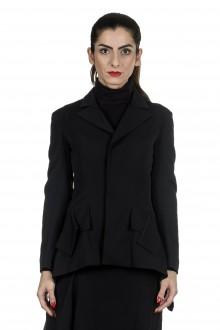 Yohji Yamamoto Damen Avantgarde Blazer schwarz