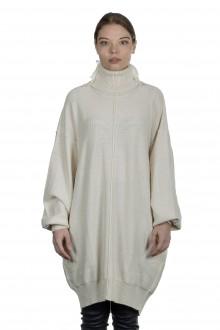Y's Yohji Yamamoto Damen Oversized Avantgarde Pullover weiß