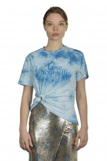 Paco Rabanne Damen LOSE YOURSELF T-Shirt blau