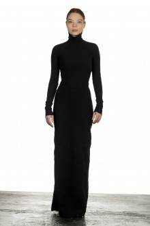 Marc Le Bihan Damen Avantgarde Kleid schwarz