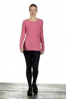 The Swiss Label Damen Langarm Shirt fuchsia