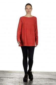 The Swiss Label Damen Langarm Shirt orange