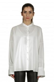 Larens Zurich Damen Bluse Oversized weiß