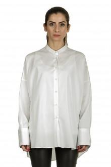 Larens Zurich Damen Hemdbluse Oversized weiß