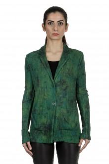 AVANT TOI Damen Blazer aus Kaschmir-Seidenmischung grün