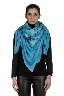AVANT TOI Damen Kaschmir-Seidenmischung Schal im Vintage Look mehrfarbig